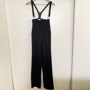 Chic Black Overalls by Frame Denim